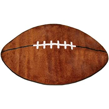 LA Rug Fun Rugs Shape Collection   Football