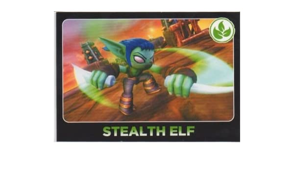 Amazon.com: Skylanders Giants No. 061 STEALTH ELF - Power ...