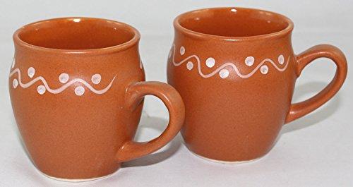 Odishabazaar Kulhar Kulhad Cups Traditional Indian Chai Tea Cup Set of 6 Tea Mug Coffee Mug by Odishabazaar (Image #1)