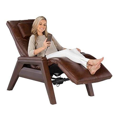 Human Touch Gravis ZG Chair - Zero Gravity Massage Recliner, Mahogany Bone