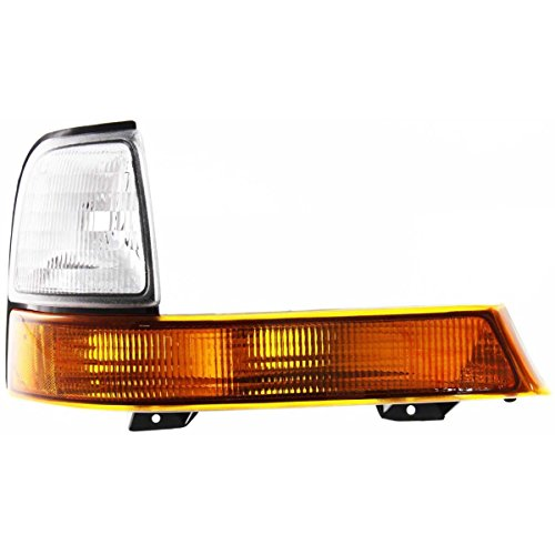 (DAT AUTO PARTS Front Parking Side Marker Light Lens and HOUSING Corner of Fender Replacement for 98-00 Ford Ranger FO2521144 Right Passenger Side)