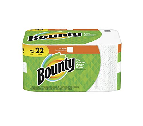 - Bounty Paper Towels Super Rolls White