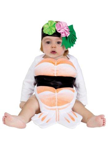Unisex Baby Teeny Sashimi Costume Infant (Up to 9 Mos)