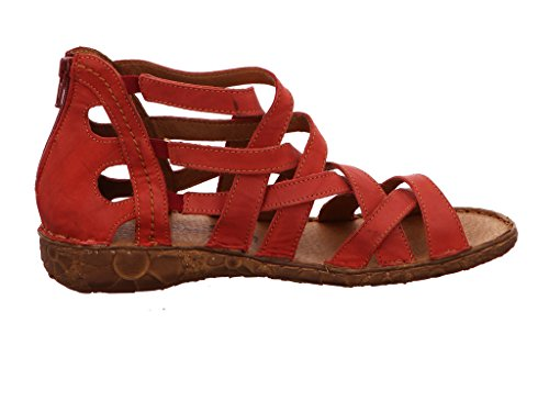 Marco Tozzi 28369, Sandalias de Talón Abierto para Mujer Rojo