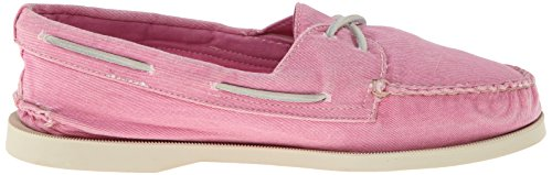 Sperry Top-Sider Mujer Authentic Original 2-Eye Washed Boat Shoe rosa brillante