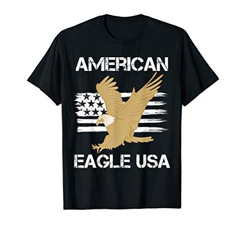 T-shirt American Eagle USA Flag #2 from JU Tee American Eagle USA