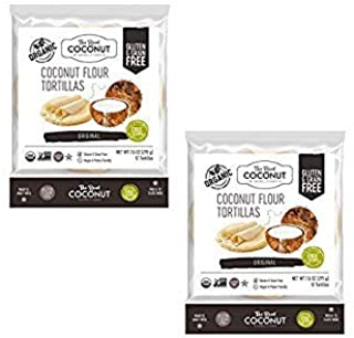product image for The Real Coconut 12 Tortillas Coconut Flour 7.6oz (2 Pack)