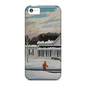 Iphone 5c PFOXYTX3458Qddmk A Winter's Day Tpu Silicone Gel Case Cover. Fits Iphone 5c