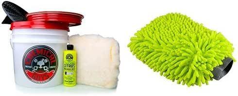 Chemical Guys MIC/_493 Chenille Microfiber Premium Scratch-Free Wash Mitt