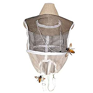 Rajendram Beekeeping Net Hat, Protective Gear, Mosquito Bee Insect Mesh Head Face Protector Mask