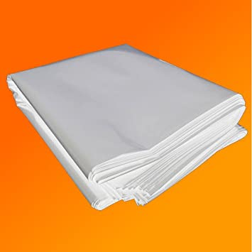 4M X 3M 250G CLEAR HEAVY DUTY POLYTHENE PLASTIC SHEETING GARDEN