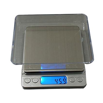 Tutoy Precision 3000G 0.1 G Balanzas Digitales Báscula Peso Joyería Alimentación Dieta Postal Oz