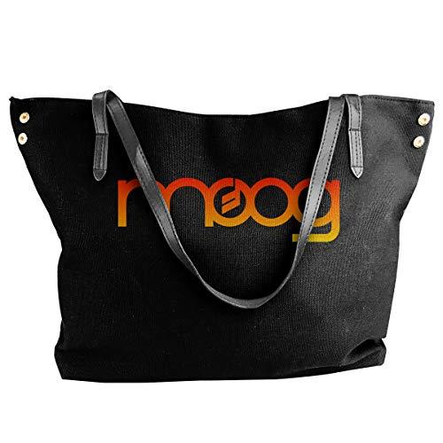 Fashion Moog Synth Shoulder Bag Canvas Handbags Tote Bag