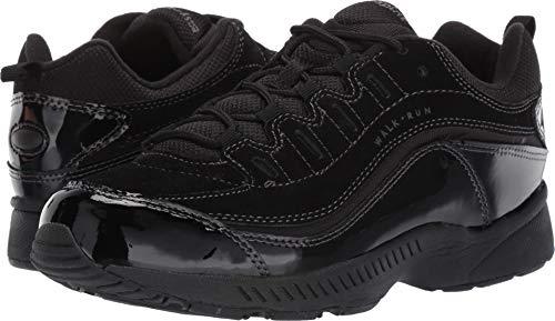 Easy Spirit Women's, Romy Walking Sneakers Black Suede 10 W