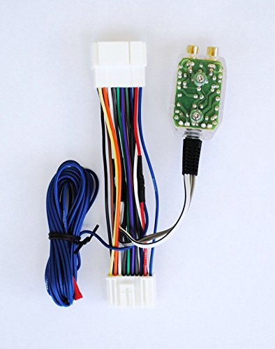 Factory Radio Amplifier Amp Sub Wire Harness + Inline Converter Interface - Radio Interface Factory