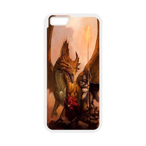 """LP-LG Phone Case Of Red Dragon For iPhone 6 Plus (5.5"""") [Pattern-4]"""