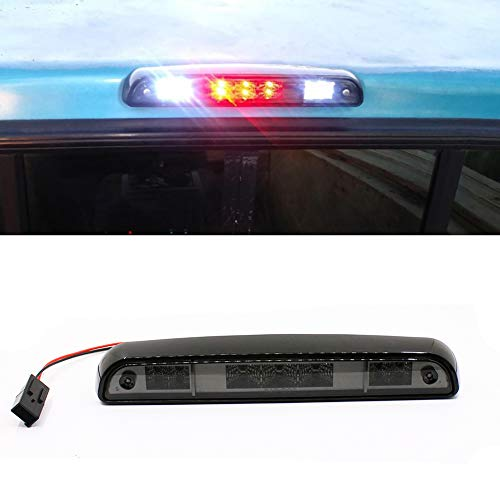 PAISION LED Rear Stop 3rd Brake Light For Ford F150 94-96/ F250 F350 94-97/ Bronco 92-96 Smoke Lens Tail Lamp