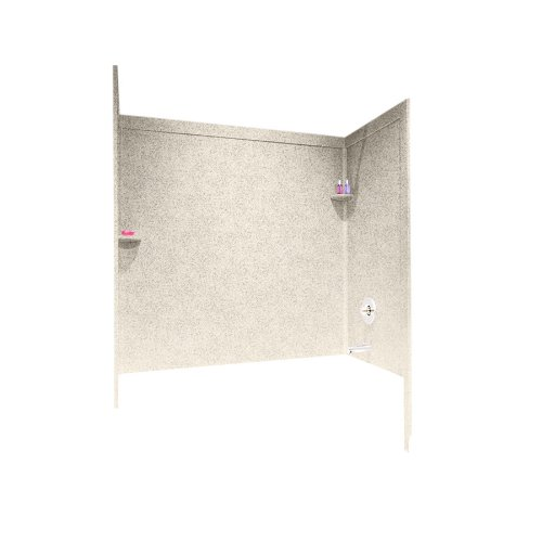 tub and shower repair kit almond - 7