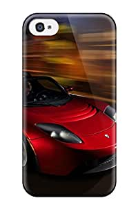Iphone Slim Fit Tpu Protector Tesla Roadster 22 Shock Absorbent Bumper Case For Iphone 4/4s