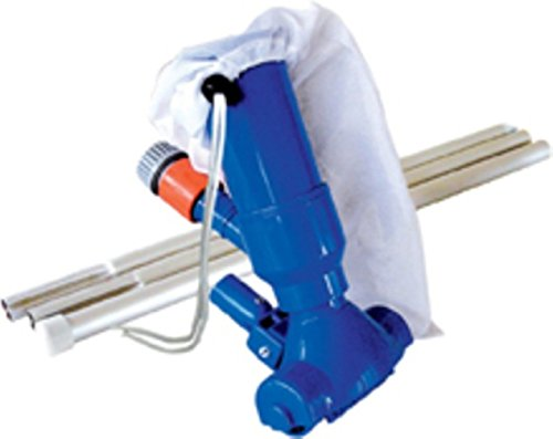 Pool & Spa-sucker with 3-piece guide rod