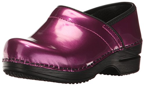 Sanita Women's Professional Sable Work Shoe Purple