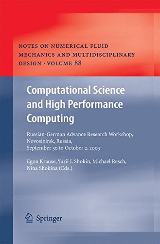 Download Computational Science and High Performance Computing: 88 (Notes on Numerical Fluid Mechanics and Multidisciplinary Design) Pdf