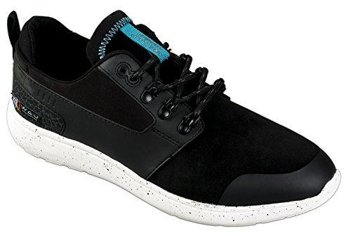 WAU Schuhe MENS LIGHTWIND MID SHOES WC96036 rubber dark black rubber dark black
