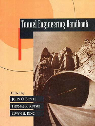 Tunnel Enginering Handbook - Tr Distributors