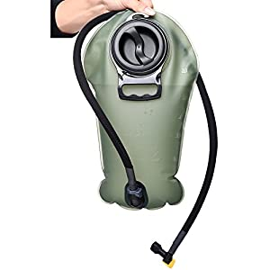 Hydration Bladder 100 oz - Suitable for All kinds of Hydration Pack - Water Storage Bladder Bag - Water Reservoir Pack for 2L Hydration Backpack System (ArmyGreen, 100 oz)