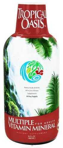 x Tropical Oasis Multiple Vitamin Mineral for Adult - 16 fl oz by Tropical Oasis