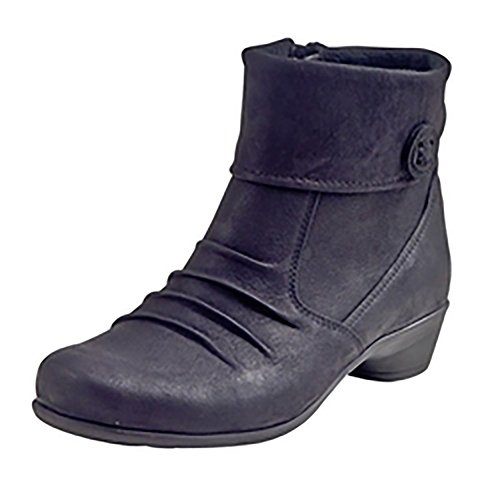 Comfortabel Noir Schwarz Boots Ankle Women's Schwarz 990639 1 rwFrPT