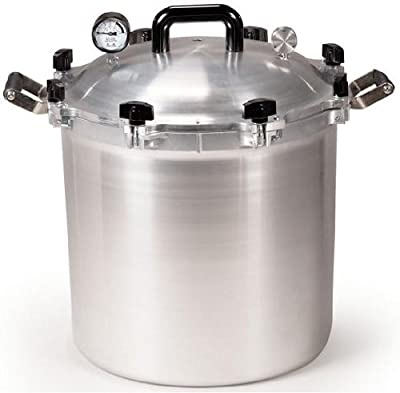 All American 41.5 Quart Pressure Cooker by Balkowitsch Enterprises
