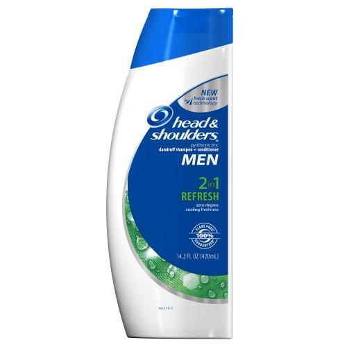 Head & Shoulders Actualiser 2-en-1 Shampooing et revitalisant pour les hommes de 14,2 oz (Pack de 2) (emballage peut varier)