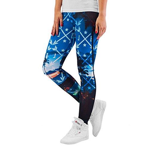 Just Rhyse Mujeres Pantalones / Legging/Tregging Beach colorido