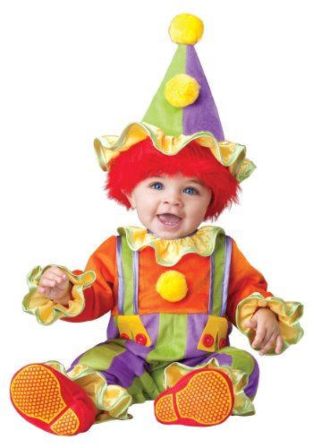 [InCharacter Baby's Cuddly Clown Costume, Multi, Large] (Halloween Costumes Infant Boy)