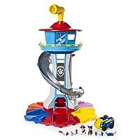 PAW Patrol My Size Lookout Tower con vehículo exclusivo, periscopio giratorio y luces y sonidos