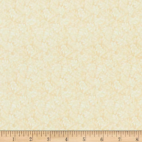 Berry Linen Shade - Benartex Harvest Berry Harvest Leaves Linen Fabric Cream Fabric by the Yard