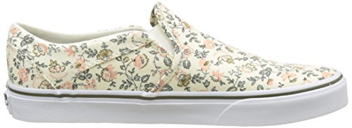 Vans White Sporco Off vintage Basse Donna Asher Wm Floral Bianco Grape Sneakers vYRqaw55