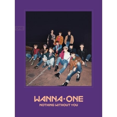 Wanna One 1st Repackage [1-1=0 Nothing without You] Wanna Ver. CD+Photobook+1p Calendar Card+1p Photo Card+1p Mini Standing Doll+1p Golden Ticket