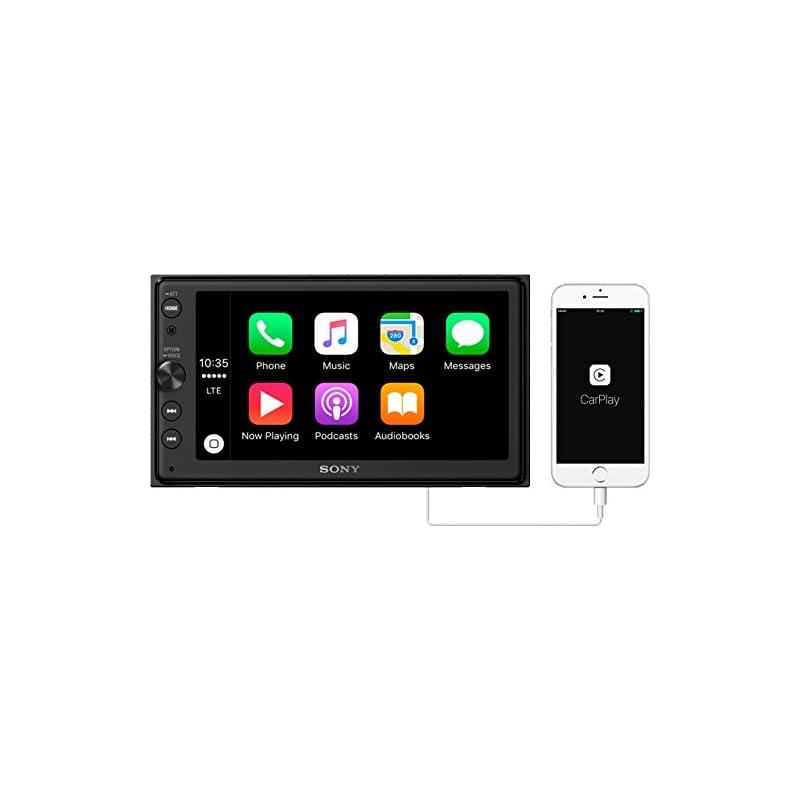 """Sony XAV-AX100 6.4"""" Car Play/Android Aut"""