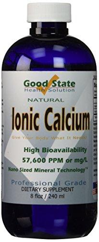 Flüssige ionische Kalzium-Mineralstoffzusätze - 8 fl. oz. (236 ml)