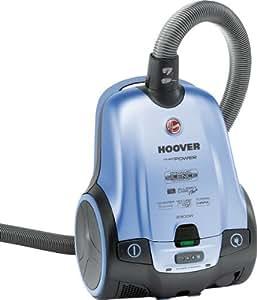 Hoover PurePower TPP 2321 - Aspiradora (2300 W, Aspiradora cilíndrica, 3,5 L, Negro, Azul, Telescópico, HEPA)
