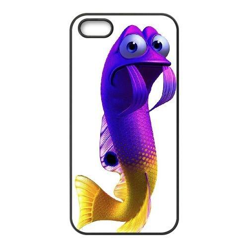 Finding Dory 004 coque iPhone 5 5S Housse téléphone Noir de couverture de cas coque EOKXLLNCD10279
