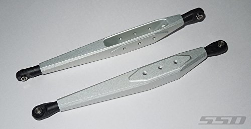 Price comparison product image SSD RC Trailing Arms for SMT10 / RR10 Bomber / Yeti (Silver)