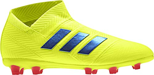 Nemeziz 18 reale da attivo Adidas blu calcio calcio Bambino blu fluoro solare Fg stivale rosso giallo Blu fwd4Cq5