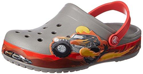 buy online 709de df85a crocs Crocband Monster Truck K Clog (Toddler/Little Kid ...