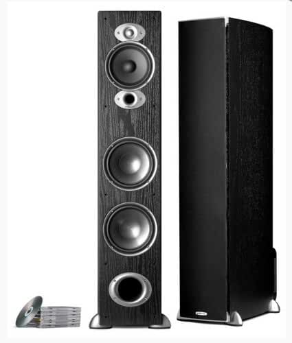 Polk Audio RTI A7 Floorstanding Speaker (Single, Black)