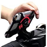 Bike/Bicycle Phone Mount/Holder - for iPhone X, XR, XS, 8, 8 Plus, 7, 7 Plus, 6, 6s, 6s Plus, Galaxy S9, S8, S7, S6, Google Pixel 2 3, Stylo 4, ZTSXLLIM Cycling Accessories - Black