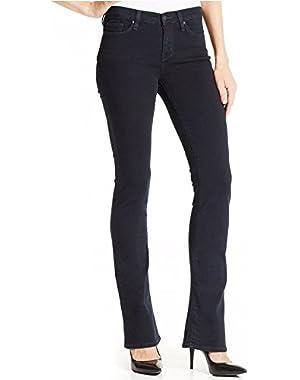 Women's Curvy Bootcut Jean