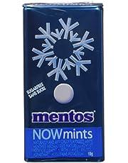 Mentos Sugar-Free NOWMint Tin, Freshmint 1.09 ounces/50 Pieces
